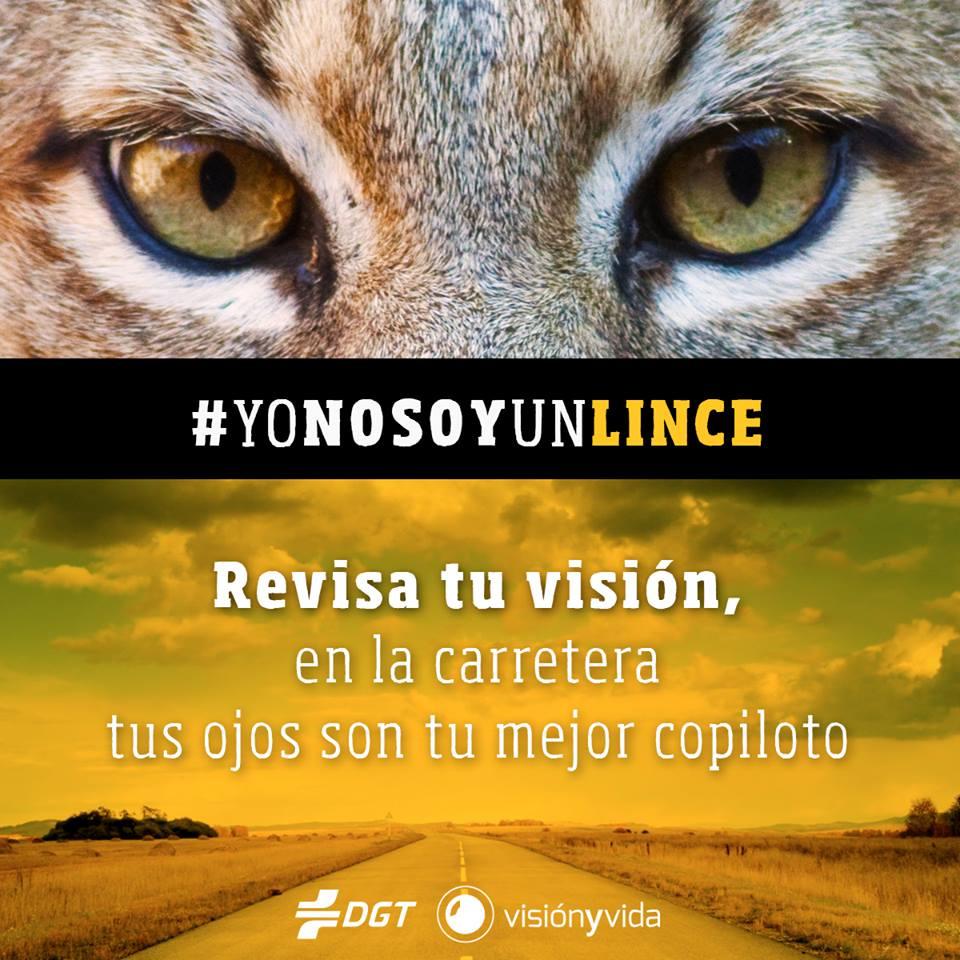 Campaña para avisar de la importancia de la buena visión al volante